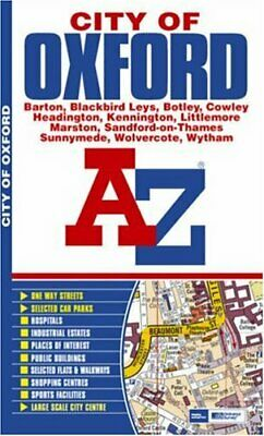 Oxford (City Of) Street Atlas by Great Britain Paperback Book The Cheap Fast