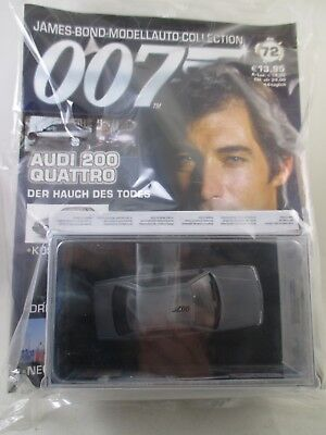 Eaglemoss - James Bond 007 Collection - Ausgabe 72 - Audi 200 Quattro  NEU / OVP