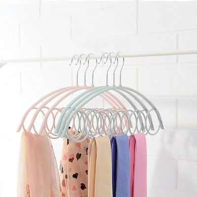 Scarf Hanger 5 Round Loops Holder Ties-Belts Organizer Home Tools Hot 1pcs