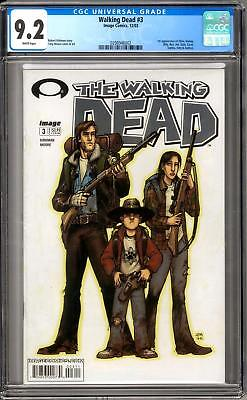 Walking Dead #3 CGC 9.2 (W) 1st appearance of Allen, Donna, Billy, Ben and more