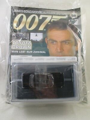 Eaglemoss - James Bond 007 Collection - Ausgabe 56 - Toyota Crown NEU / OVP