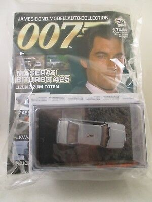 Eaglemoss - James Bond 007 Collection - Ausgabe 38 - Maserati Biturbo 425   OVP