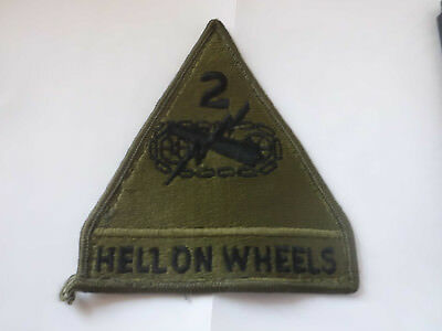 Aufnäher Patch Abzeichen US-Army USA  Hell on Wheels