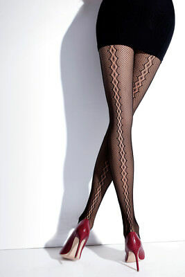 5b73affa2ce1e Sexy Seamed Cabaret Wave Trendy Full Fantasy Hosiery Women Tights Pantyhose  T129