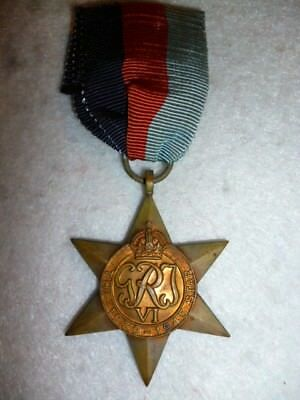 The Africa Star Medal WW2 - Named to an Australian, New England Mounted Rifles