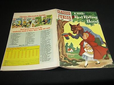 Classics Illustrated Junior.#510 LITTLE RED RIDING HOOD(ed.7) (576)( Au/69) FVF