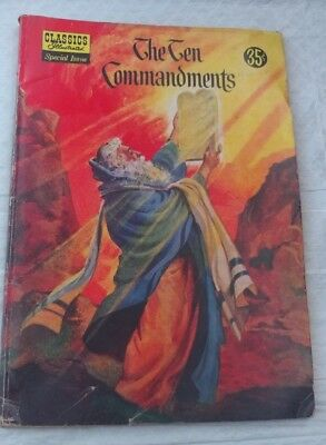 Classic Illustrated 1956 Special Issue The Ten Commandments #135A
