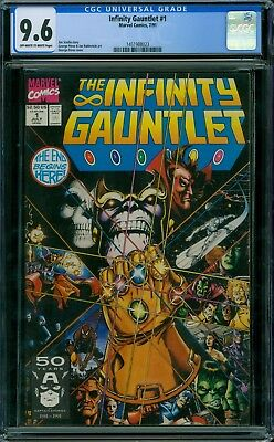 Infinity Gauntlet 1 CGC 9.6 - OW/W Pages - No Reserve Auction