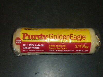 "Case Lot of 15 Purdy Golden Eagle 3/4"" Nap 9"" inch Paint Roller Covers 140608094"