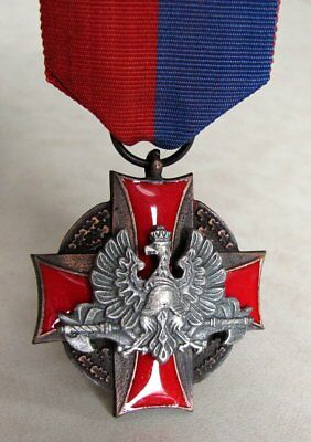 Poland Polish Bronze Cross of Merit For Life Saving And Protection Of Meaning