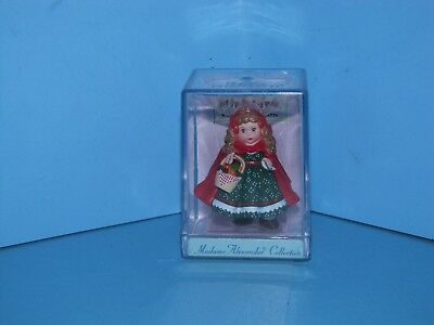 Hallmark Merry Miniature Madame Alexander Little Red Riding Hood 2000
