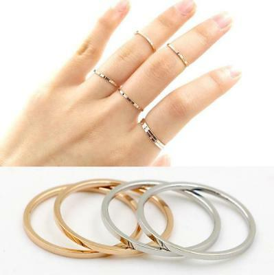 Women 316L Stainless Steel Ring Wedding Band Ring Sliver Ring Couple Ring