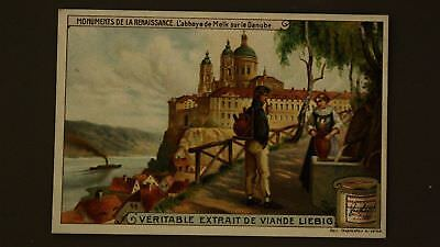 Advertising Liebig Card The Melk Abbey On The Danube