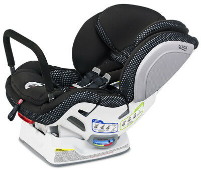 Britax Advocate Clicktight ARB Convertible Car Seat Child Safety Cool Flow Gray