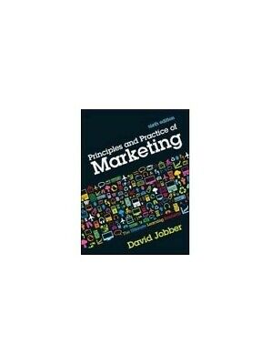 Principles and Practice of Marketing by David Jobber 0077123301
