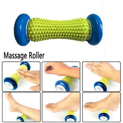 Charm Massage Roller Stick Muscle Self Back Massager Exercise Hand Leg Tools