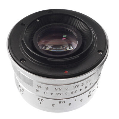 25mm F/1.8 Manual Focus Fixed Lens for Fujifilm X-mount X-H1/X-E1/X-Pro1/2 X-T10