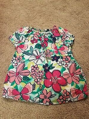 GYMBOREE Floral Top Toddler Girls Size 5-Simply Adorable!