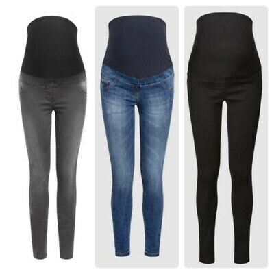 Ex-Store Maternity Over Bump Jeans UK Sizes 6-8-10-12-14-16-18-20-22