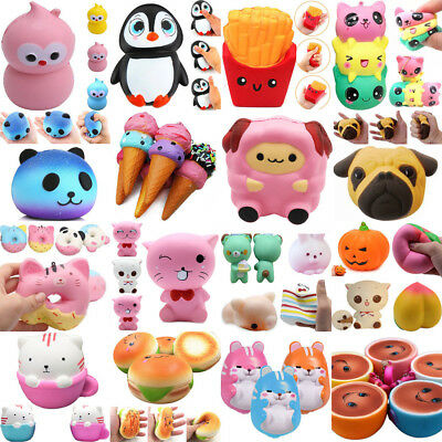 Jumbo Slow Rising Squishies Scented Charms Kawaii Squishy&Squeeze Toy Gift abby