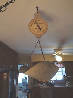 American Family Hanging Produce Scale 60 lbs. with Basket
