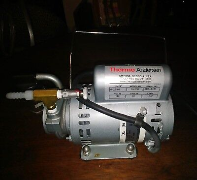 Air Sampler Thermo Andersen Single Stage Air Pump 10-709 115V 60 CYCLES GAST