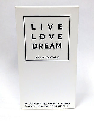 c851adcce5c2c Aeropostale LIVE LOVE DREAM Perfume 2.0 oz NIB FREE SHIPPING new collection