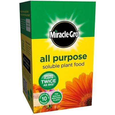Miracle-Gro All Purpose Soluble Plant Food 1.2 kg Grows Bigger Healthier Plants