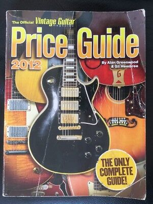 The Official Vintage Guitar Price Guide - Magazin 2012 / Alan Greenwood