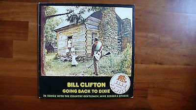 """Lp Bill Clifton """"going Back To Dixie"""" Dlp  1975 Bear Family Records"""