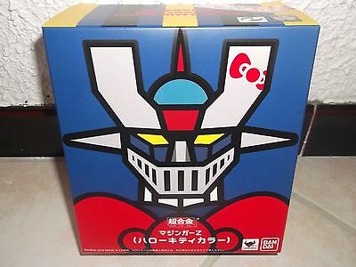 Super robot chogokin MAZINGER Z HELLO KITTY color Version/ New unopen/off.Bandai