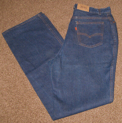 LEVI'S Denim Jeans - 18 - 32 x 34 - 25035-0214 - VINTAGE 1980 - Orange Tag - USA