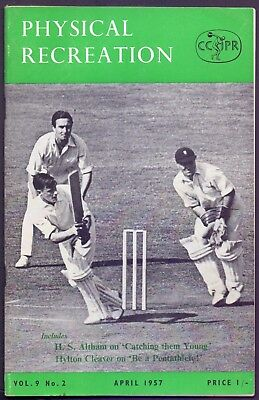 54 page Physical Recreation Vol 9 No 2 April 1957   (YT1)