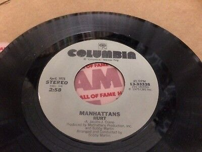 The Manhattans Kiss And Say Goodbye ~ Hurt  7 45   Q