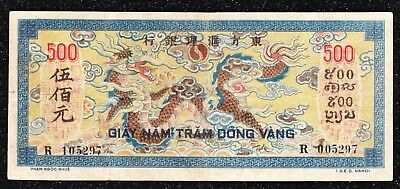 French Indochina - 1944-45 - 500 Piastres P-68