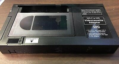 VHS-C To VHS Videocassette Adapter