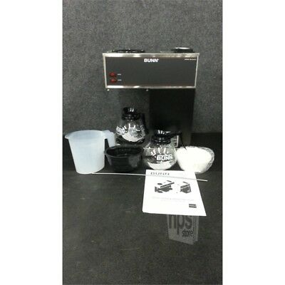 Bunn 33200.0001 12 Cup Commercial Decanter Coffee Brewer w/ 2 Glass Decanters*