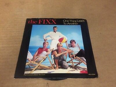 The Fixx One Thing Leads To Another Ps 7 45   Q