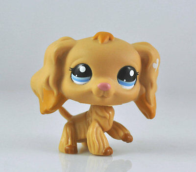 Pet Spaniel Dog Collection Child Girl Boy Figure Littlest Toy Loose LPS979