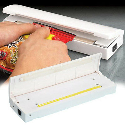 Heat Sealing Machine Batteries Plastic Bag Sealer Seal Tools Kitchen Supplies
