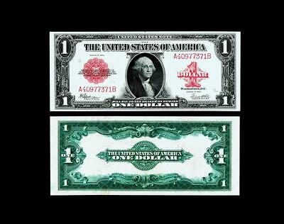 Fr. 40 $1 1923 Legal Tender~~ALMOST UNCIRCULATED