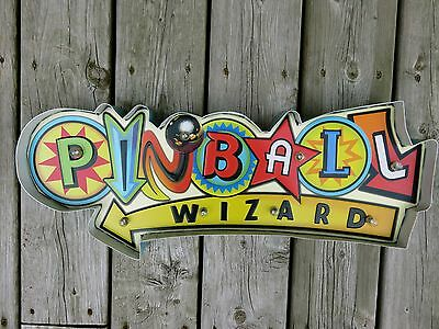 Pinball Game LED Metal Sign Vintage Sports Arcade Games Child`s Room Decor New
