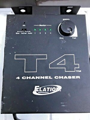 Elation Professional T4 4 Channel Chaser