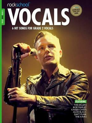 Rockschool: Vocals - Male (Book/Download) 2014-2017