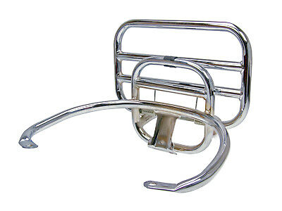 Top Case Carrier PANIER RACK Fold-Up Chrome for Vespa GT GTS 125-300ccm