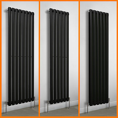 Vertical Oval Panel Tall Upright Column Designer Radiator Central Heating Rads