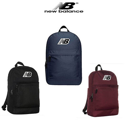 d9ae4eb474 New Balance P-Classic 500210-001 Unisex Canvas Black Backpack