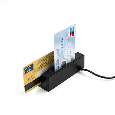 ZCS100-IC 2-in-1 USB Credit Card Reader Magnetic Read+EMV IC Chip Reader Writer