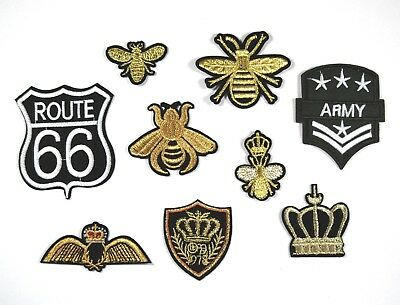 Embroidered Sew On/Iron On Military & Urban Patches/Badges - Clothing Appliques