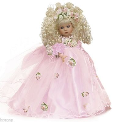 "Linda Rick The Doll Maker Pretty As Can Be Blonde 12"" Doll"